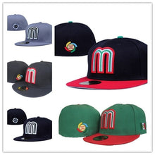 Load image into Gallery viewer, (MEXICO CAP) SD Baseball Caps Fashion Hip Hop Size Bone for Men Women Letter M Full Closed Gorras