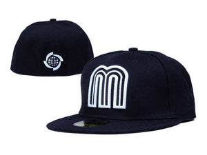 (MEXICO CAP) SD Baseball Caps Fashion Hip Hop Size Bone for Men Women Letter M Full Closed Gorras