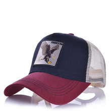 Load image into Gallery viewer, (ANIME CUTE CAP)  Embroidery Summer Mesh Men's Ms. Outdoor Sunshade Dad Truck Driver hats