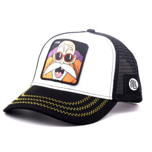(ANIME CAP)  Embroidery Snapback PICCOLO Cotton Baseball Cap Hip Hop Dad Mesh Trucker Hat