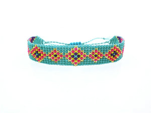 (SEED MIX-COLORS) Bracelet Beaded Custom Mix-Colour  Friendship Bracelets For Women Men