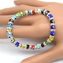 Load image into Gallery viewer, (LUCKY EYE THIN) Charm Bracelets Popular Boys Bangles Mini Strand Beads Bracelets Jewelry!
