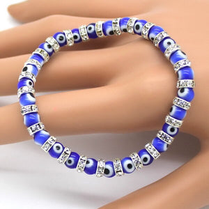 (LUCKY EYE THIN) Charm Bracelets Popular Boys Bangles Mini Strand Beads Bracelets Jewelry!