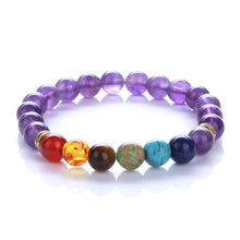Load image into Gallery viewer, (MULTICOLOR BEADS) Bracelet Elastic Beaded Bracelet Tibet Charm Bracelets