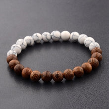 Load image into Gallery viewer, (BEADS WOOD) 8mm New Natural Wood Beads Bracelets Meditation Bracelet Prayer Jewelry Yoga