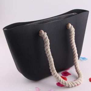 (Hemp rope handles Bag) waterproof silica gel