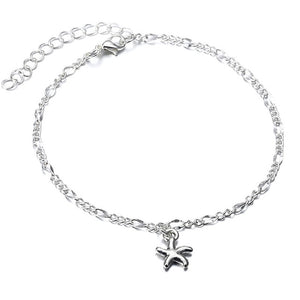 (ANKLE CHARM B) Charms Rope Chain Beach Summer Foot Ankle Bracelet