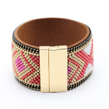 Load image into Gallery viewer, (SEED GEOMETRY) Bracelets & Bangles Wide Magnetic Buckle Bohemian Women Bracelets