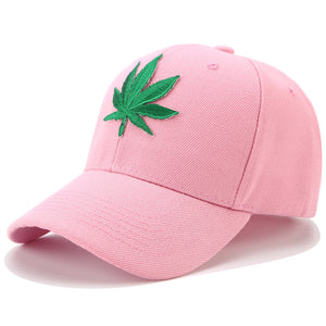 (Weed Cap) Embroidery Hemp Weed