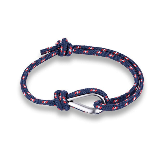 (PARACHUTE) Cord Men Women Nautical Survival Rope Chain Bracelet Summer Style