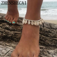 Load image into Gallery viewer, (Simple shell) Foot Jewelry Summer Beach Barefoot Bracelet ankle strap Bohemian jewelry Accessories