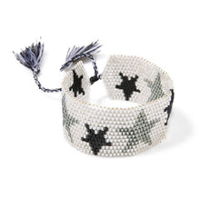 Load image into Gallery viewer, (Stars Seed woven) Beads Cuff Bracelet Jewelry Ethnic Tassel Bracelets Stars Woven