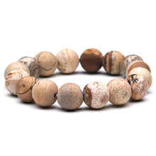 Load image into Gallery viewer, (SHAMB MIX) different styles natural stone&wood head bead bracelet for men&women Buddha Skull Bell Elastic bracelets