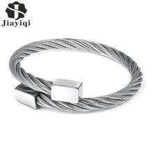 Load image into Gallery viewer, (Block) Men Stainless steel Bracelet Fashion