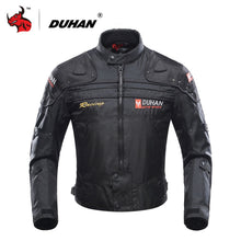 Load image into Gallery viewer, (DUHAN Motorcycle Jacket) Motorbike Riding Jacket Windproof Motorcycle Full Body Protective Gear Armor Autumn Winter Moto Clothing