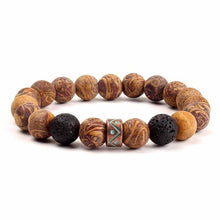 Load image into Gallery viewer, (NATURAL STONE BEADS) Bracelets Vintage Colorful Beads Bracelets Bangle Jewelry