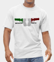 Load image into Gallery viewer, (Mexican Mafia) GANGSTER T-SHIRT FRUIT OF THE LOOM PRINT BY EPSON T-shirt