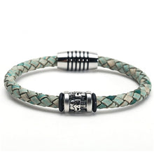 Load image into Gallery viewer, (TRENDY LEATHER) bracelets & bangles retro bracelet pulseras jewelry