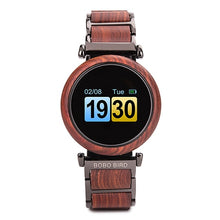 Load image into Gallery viewer, (Touch Screen Wooden Watch) Bobo Bird Luxury Top Brand Great