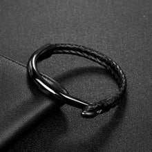 Load image into Gallery viewer, (Titanium Steel Hook) Clasp Fashion Bangle Male Jewelry