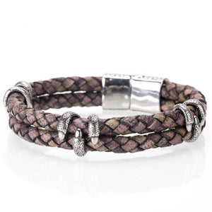 (LEATHER HOMME)  bracelets  handmade jewelry pulseras