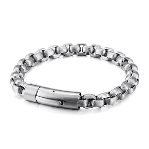 ( RETRO CHAIN) Stainless Steel Retro Chain Bracelets