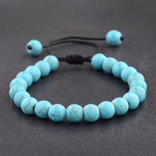 Load image into Gallery viewer, (Howlite Couple) Beads Macrame Braided Bracelets