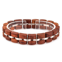 Load image into Gallery viewer, (Wooden Bracelet Homme) Wooden Bangle Jewelry pulsera