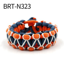 Load image into Gallery viewer, (GLOW PARACORD) Bracelet Parachute Cord Bracelet Wristband Camping Hiking Hand-made