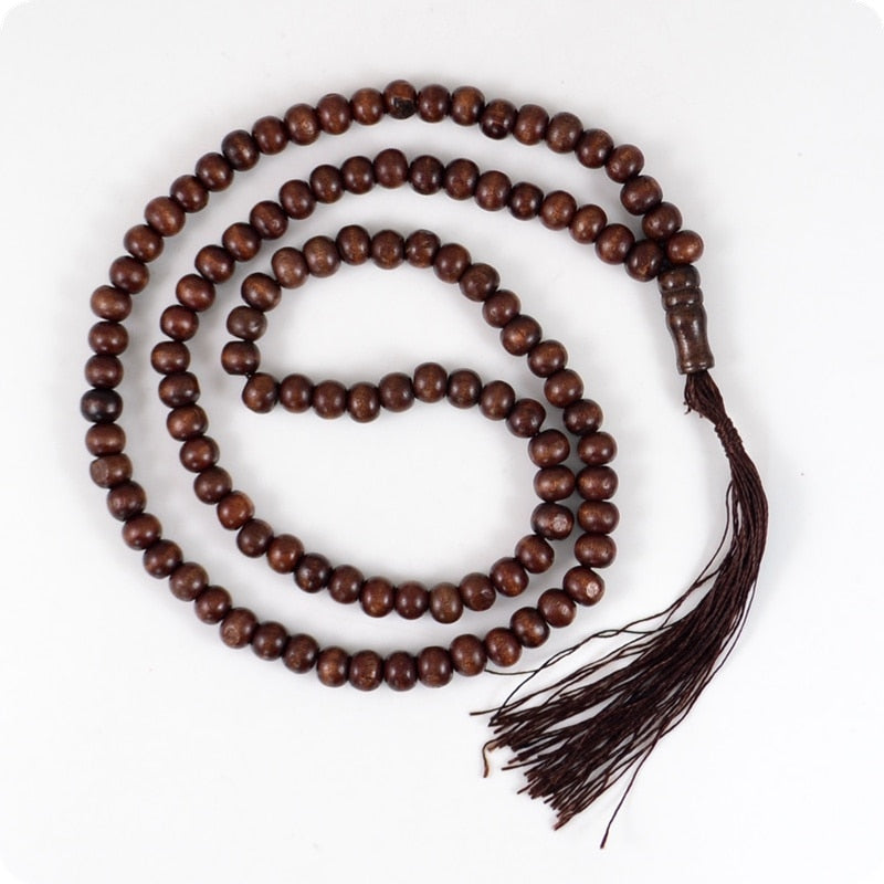 (TASSEL NECKLACE) 108 beads Buddhism Hinduism and Yoga necklace fashion jewelry
