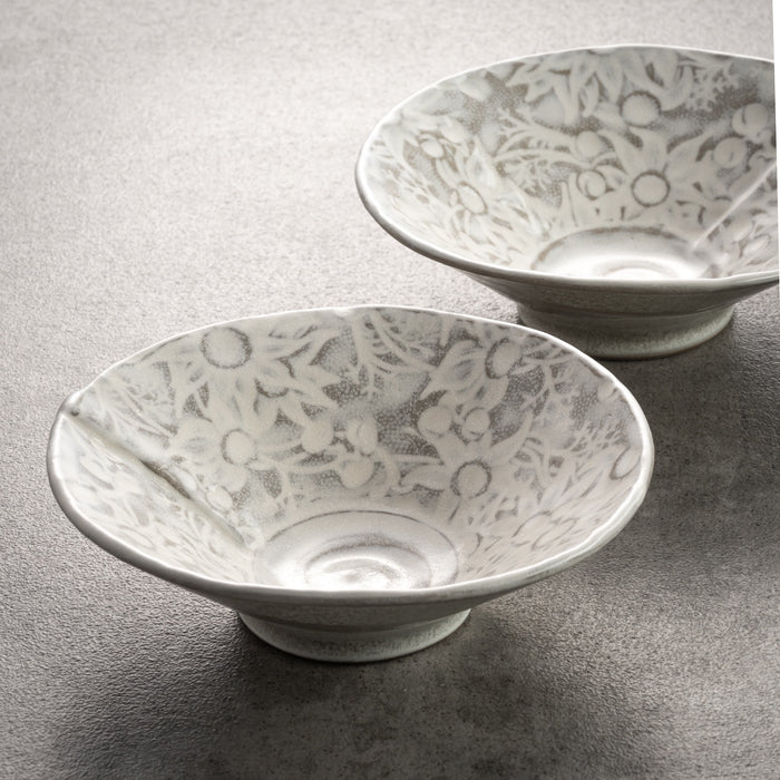 Flannel Flower Bowls