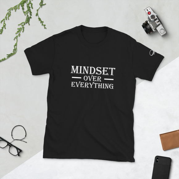 Mindset Over Everything Short Sleeve T-shirt