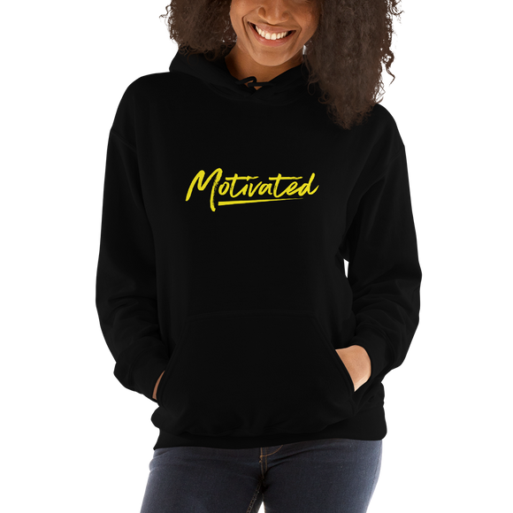 Women's Motivated Hoodie (Yellow)