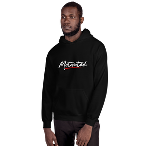 Motivated Hoodie (Red/Wht/Unisex)