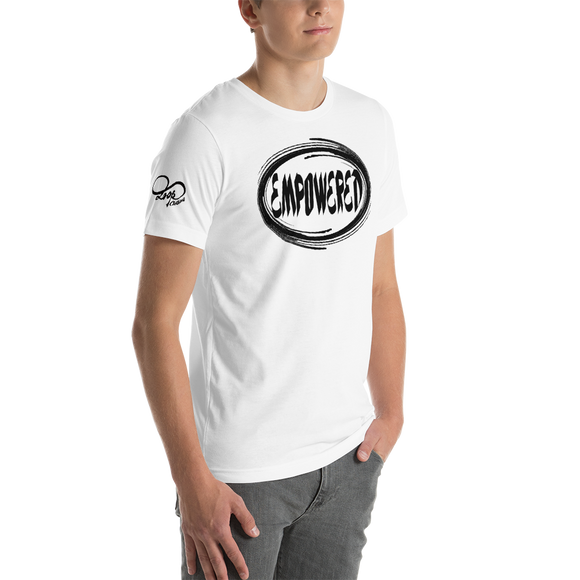 Short-Sleeve Unisex Empowered T (BLK)