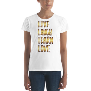 Women's short sleeve 4 L's T (GLD)