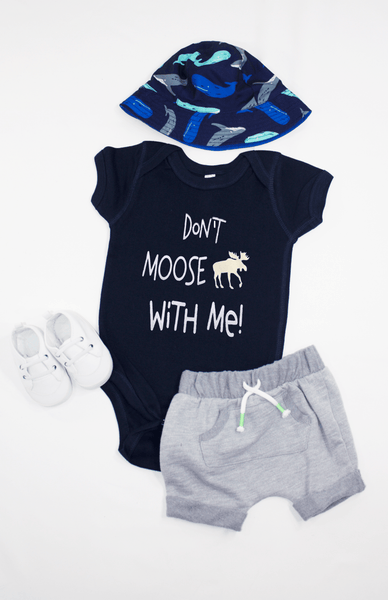 Don't Moose With Me Baby Bodysuit