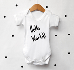"""Hello World"" Bodysuit"