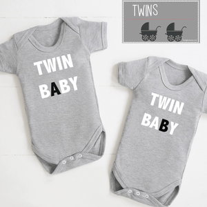 Twin Bodysuit Set