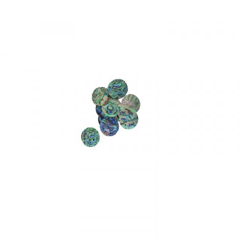 Shell Disc - Paua - 12mm CDPB12K