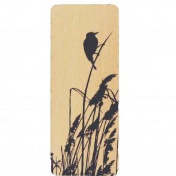 Bookmark Bird Silhouette