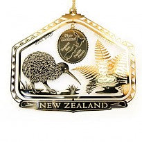 Xmas Collectable NZ Kiwi Gold BBXM703