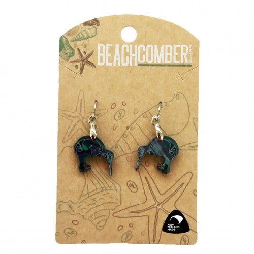 Paua Earrings Small Kiwi BCJ1525E