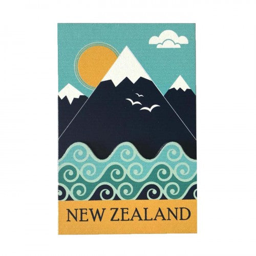 3D Magnet - Mountain New Zealand