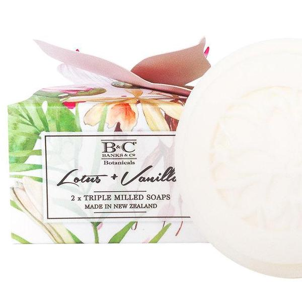 Lotus and Vanilla - 2 Triple Milled Soap