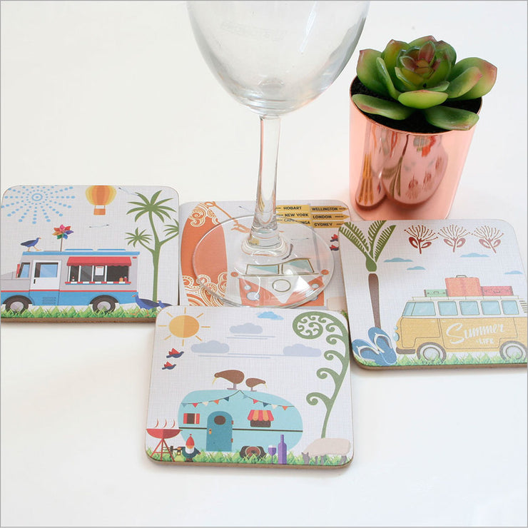 Crystal Ashley Coaster - Summer life