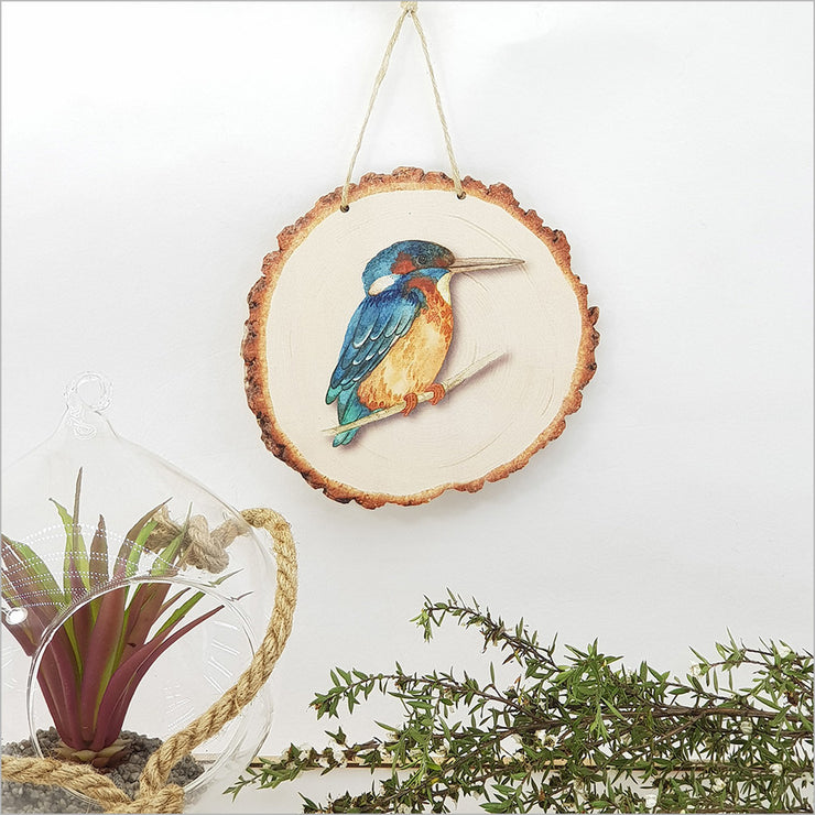 King Fisher Hanging Ornament Large