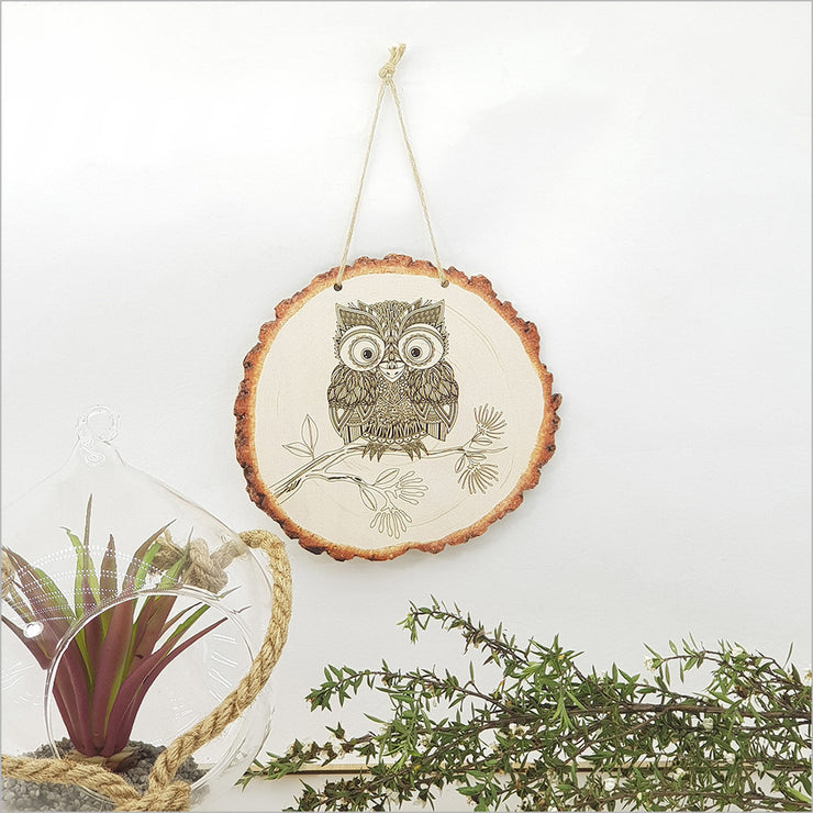 Morepork Hanging Ornament Large
