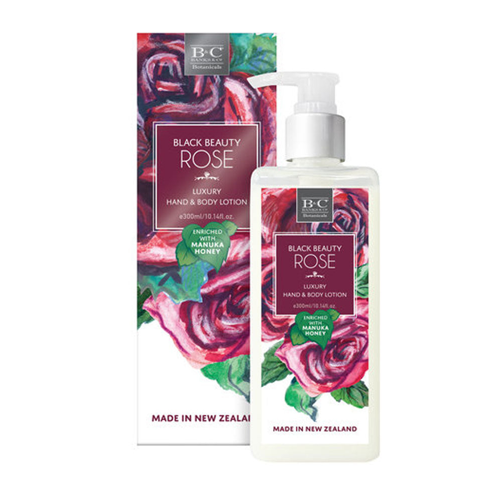 Black Beauty Rose Hand & Body Lotion