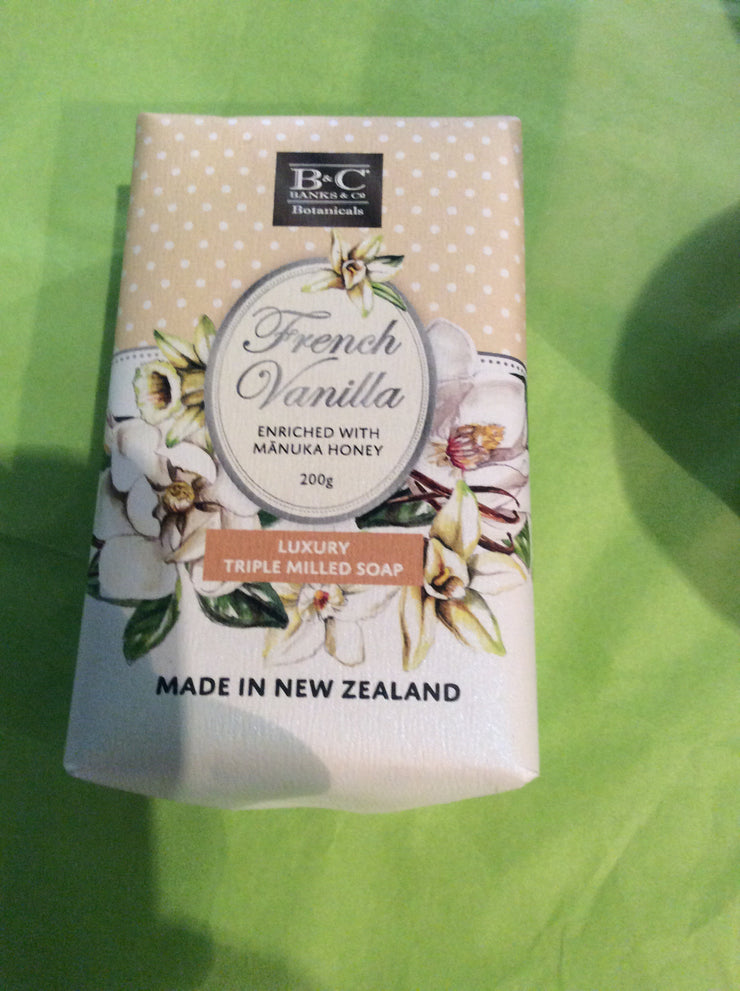 French Vanilla Luxury Soap 200g